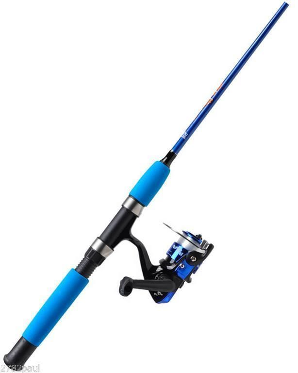 Abu garcia clownfish 4 39 kids fishing rod reel combo for Kids fishing poles