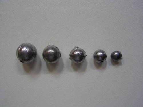 400 bulk ball fishing sinkers x 4 sizes super value ebay for Fishing sinkers bulk