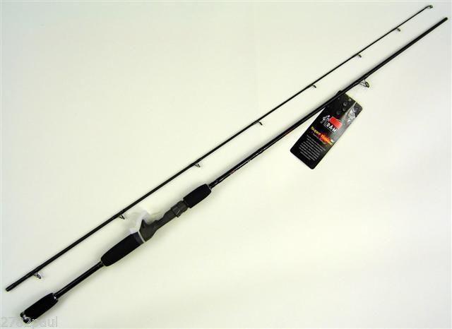 D a m basser graphite baitcaster fishing rod 6 39 6 2 pc for Baitcaster fishing rod