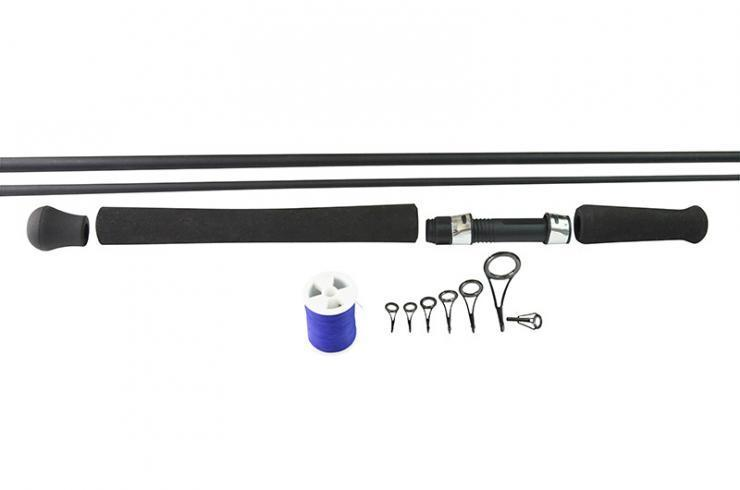Alps complete fishing rod building kit 7 39 2 pce spin rod for Fishing rod building kits