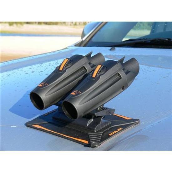 Rodlok magnetic car bonnet fishing rod holder securely for Fishing rod holders for cars