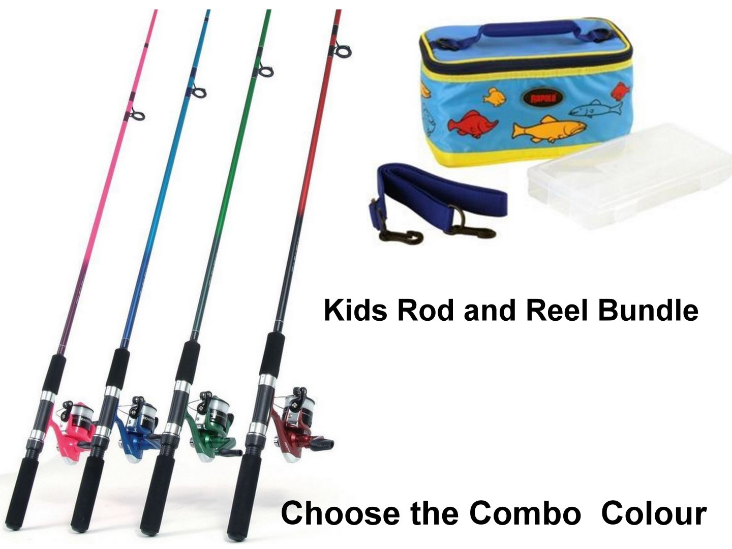 Jarvis walker 6 39 zenith kids fishing rod and reel combo for Kids fishing gear