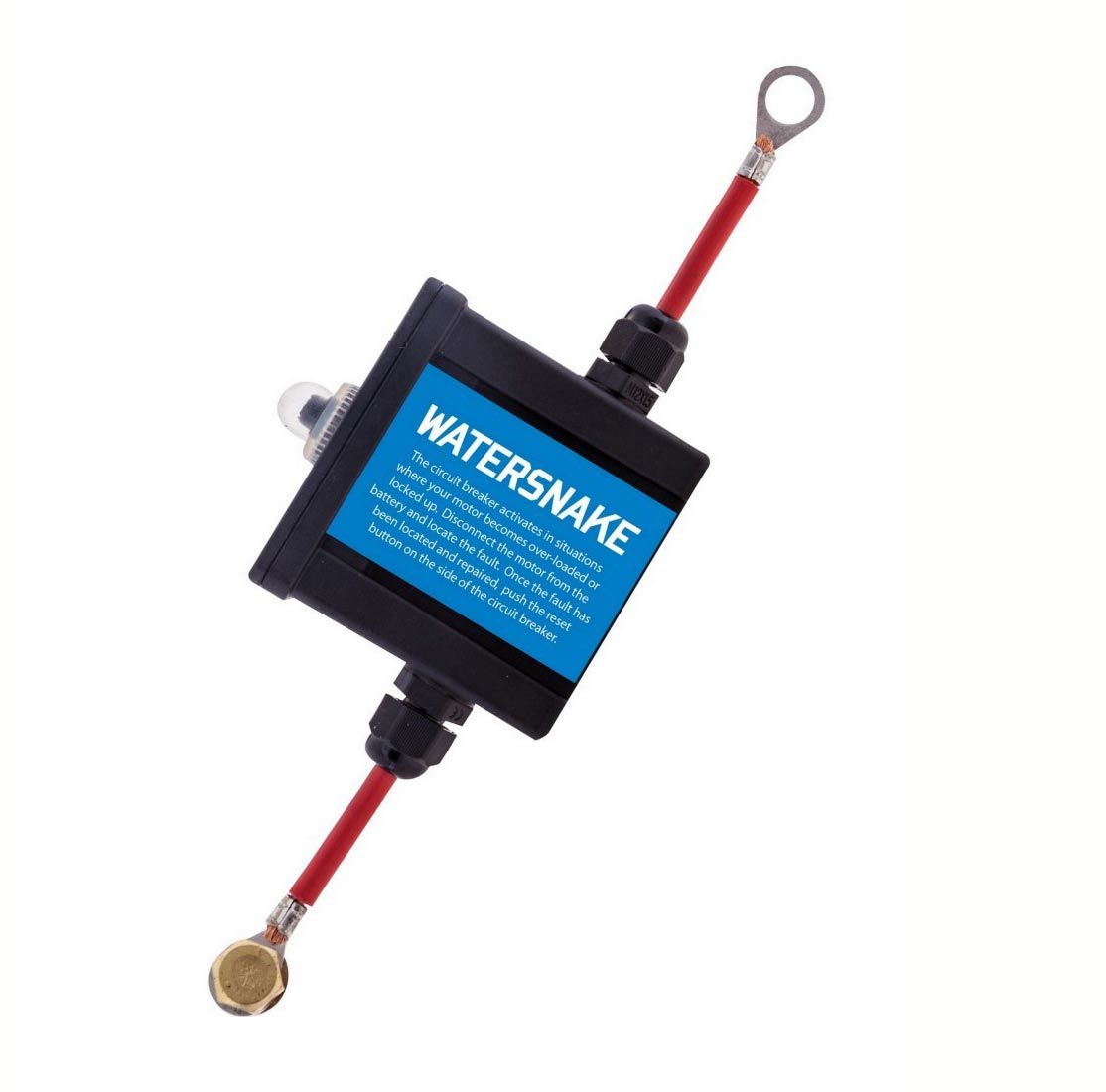 Watersnake 50 amp circuit breaker protects watersnake for Motor operated circuit breaker