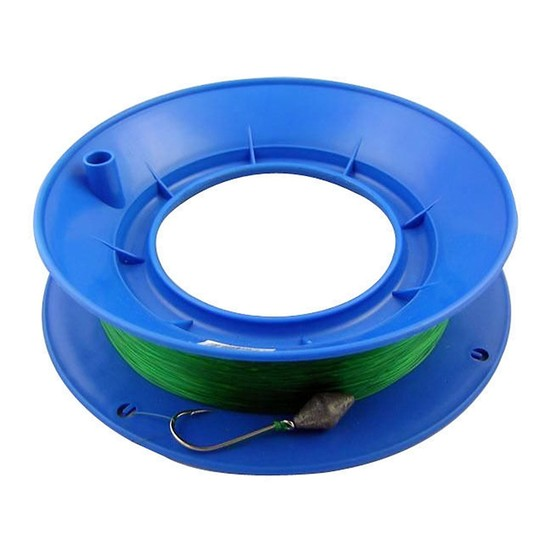 80lb PRE RIGGED 10 INCH RING CASTER HAND LINE-200m GREAT FOR THE FAMILY