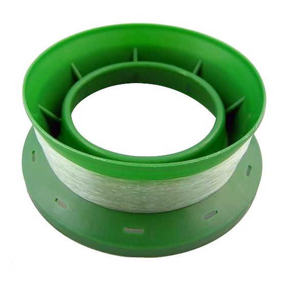 PRE RIGGED 4 INCH RING CASTER HAND LINE - 6lb x 100m GREAT FOR THE KIDS