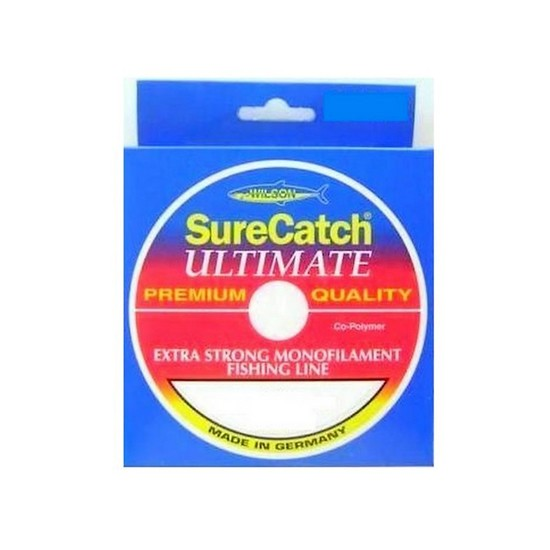 300 Metres of 4lb Wilson Ultimate Extra Strong Mono Fishing Line-Co Polymer Line