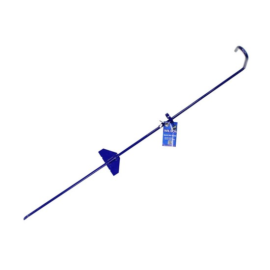 Wilson Blue Powder Coated Beach Fishing Rod Holder