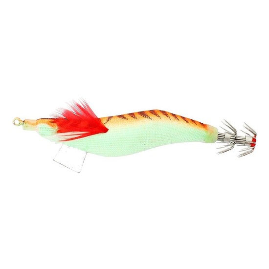 SURECATCH SURESQUID ORANGE - CLOTH SQUID JIG LURE 3.0gram TOURNAMENT GRADE