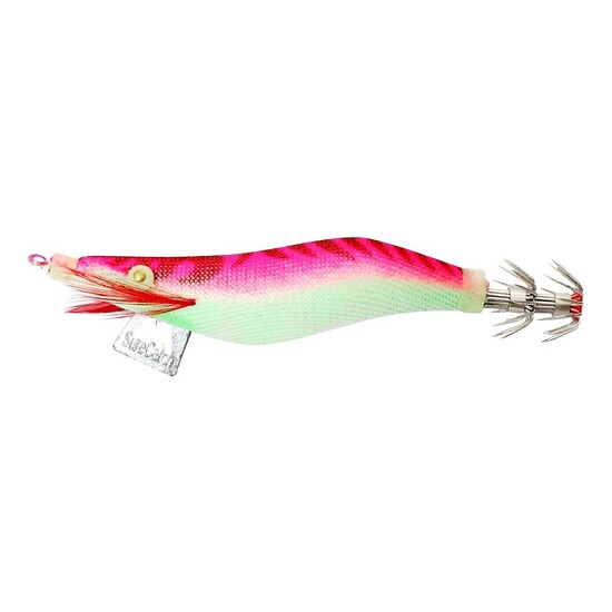 SURECATCH SURESQUID PINK - CLOTH SQUID JIG LURE 3.5gram TOURNAMENT GRADE