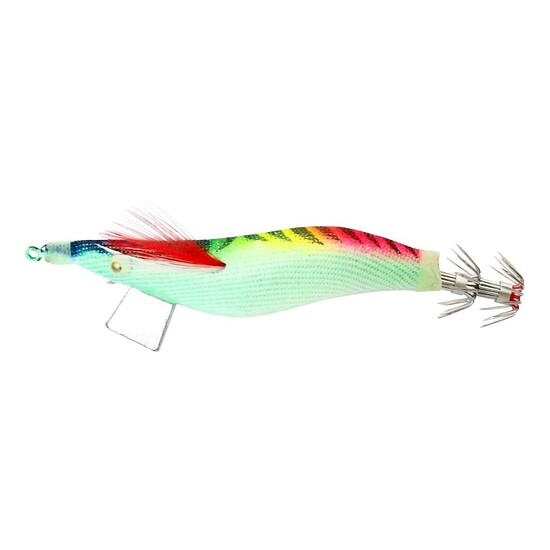 SURECATCH SURESQUID RAINBOW - CLOTH SQUID JIG LURE 3.5gram TOURNAMENT GRADE