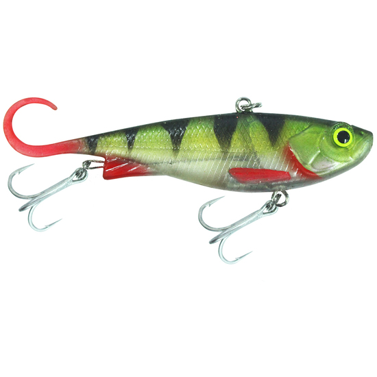 110mm Zerek Fish Trap Soft Vibe Lure - Col R - Sinking Crankbait Fishing Lure