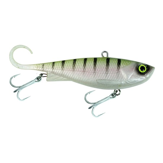 110mm Zerek Fish Trap Soft Vibe Lure - Col RT - Sinking Crankbait Fishing Lure