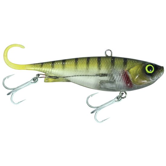 110mm Zerek Fish Trap Soft Vibe Lure - Col TF - Sinking Crankbait Fishing Lure