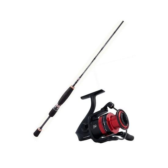 Abu Garcia 7ft Salty Fighter 6-10kg Fishing Rod & Reel Combo-7ft Rod/BM 40 Reel