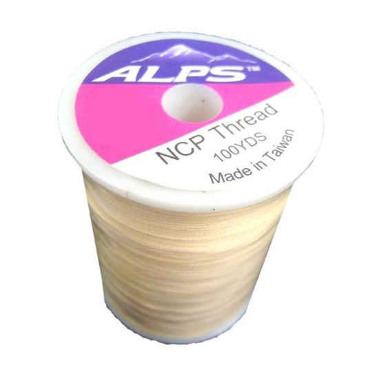 Alps 100yds of Tan Rod Wrapping Thread - Size A (0.15mm) Rod Binding Cotton