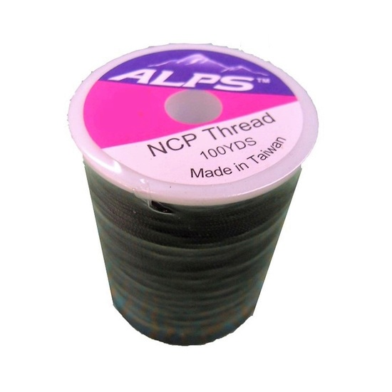 Alps 100yds of Black Rod Wrapping Thread - Size A (0.15mm) Rod Binding Cotton