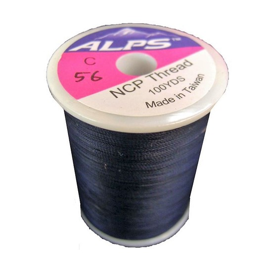 Alps 100yds of Deep Blue Rod Wrapping Thread - Size C (0.2mm) Rod Binding Cotton