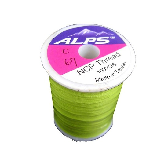 Alps 100yds Spring Green Rod Wrapping Thread-Size C(0.2mm) Rod Binding Cotton