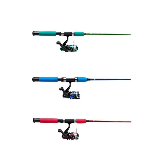 Abu Garcia Clownfish 4' Kids Fishing Rod and Reel Combo - Blue, Green or Red