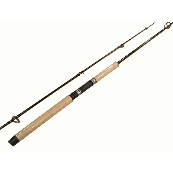 Jarvis Walker Deluxe Black Queen 8ft 2 Pce 2-6kg Solid Glass Fishing Rod