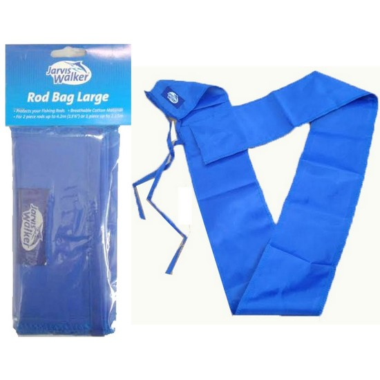Large Size Rod Bag to Suit 2 Pce Fishing Rods Up To 13'6 or 1 Pce Rods Up to 7ft