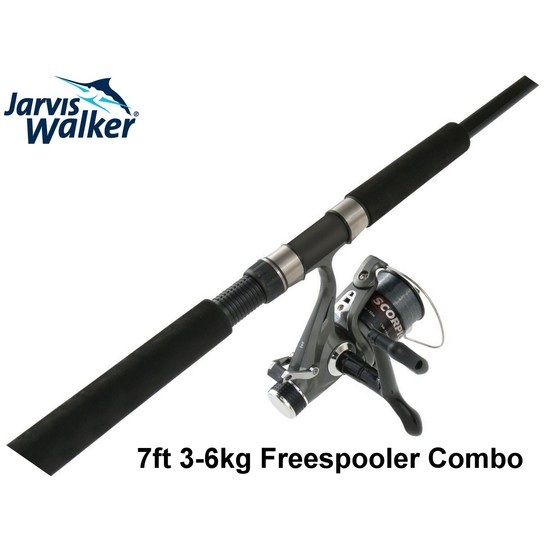 Jarvis Walker 7 ft 3-6kg Freespooler Rod and Reel Combo-Baitfeeder Combo