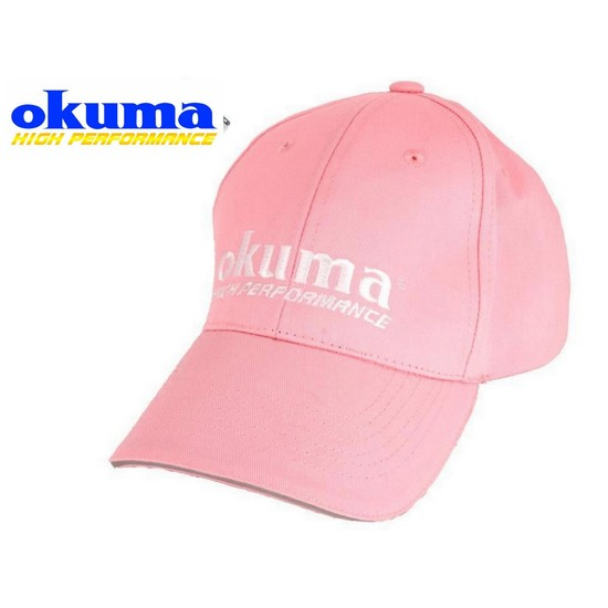 Okuma Pink Femme Fatale Fishing Cap With Adjustable Velcro Strap