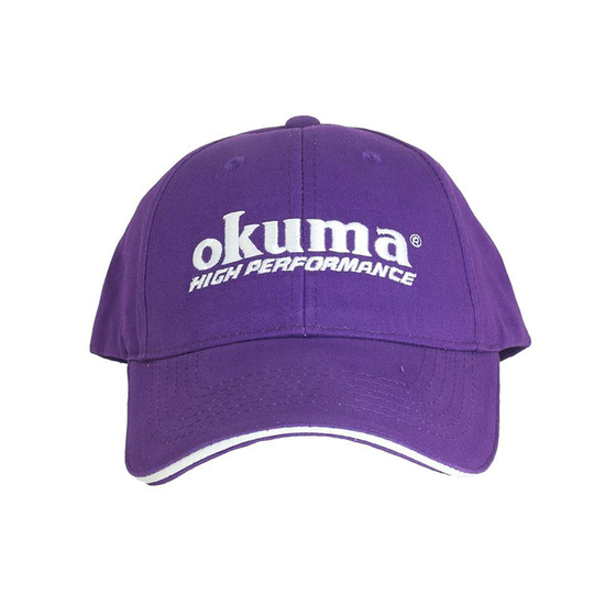 Okuma Purple Femme Fatale Fishing Cap With Adjustable Velcro Strap