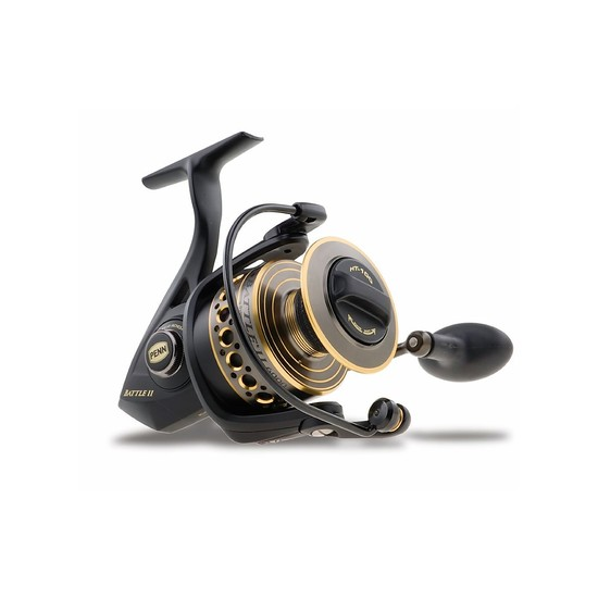 Penn Battle II 4000 Spinning Fishing Reel - 6 Ball Bearing Reel