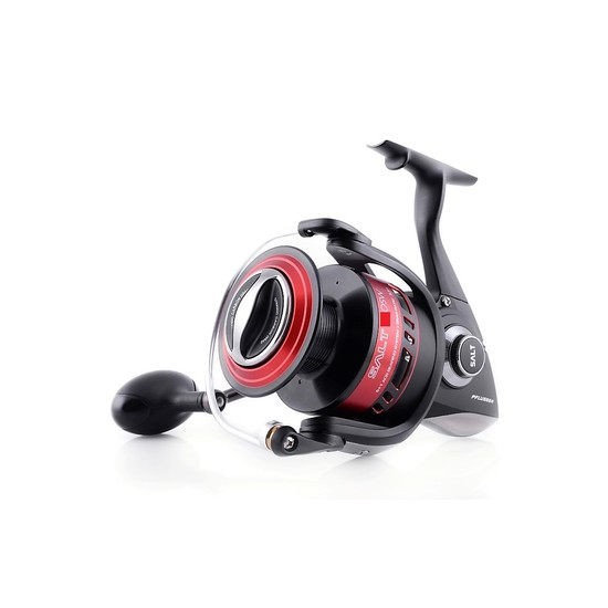 Pflueger Salt 80 Spinning Fishing Reel - 6 Ball Bearing Reel with Full Metal Body