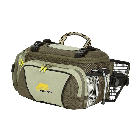 Plano 4475 Small Lumbar Fishing Pack with 2 Tackle Boxes & Water Bottle Holder