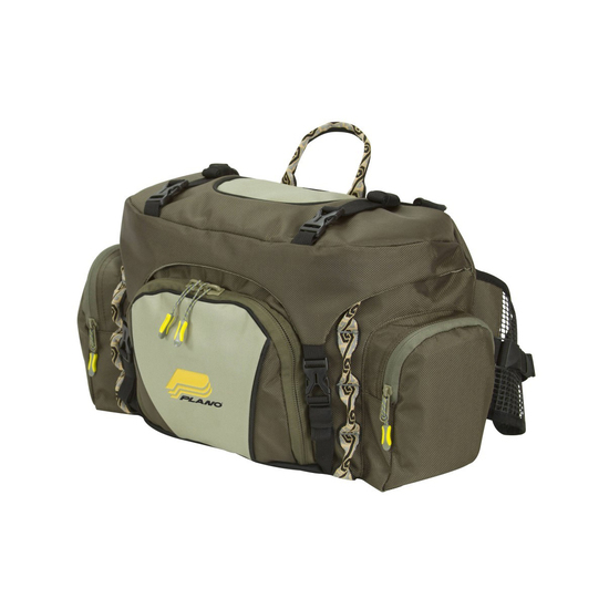 Plano 4477 Large Lumbar Fishing Pack with 2 x 3750 Prolatch Stowaway Tackle Trays