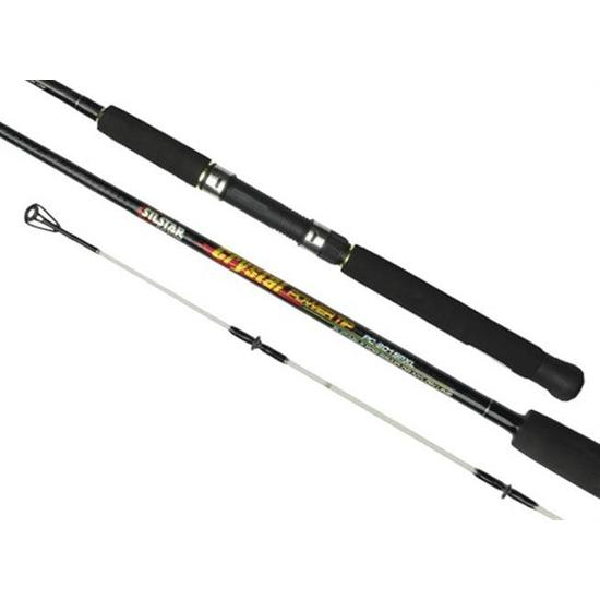 Silstar Crystal Power Tip 2-5kg 7ft 2 Piece Fishing Rod - Extra Light Spin Rod