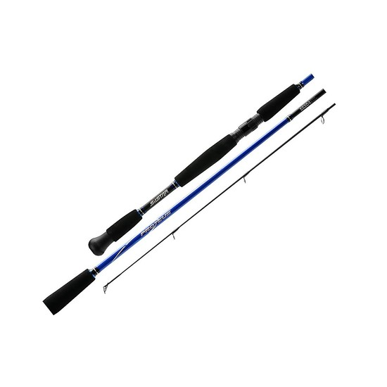 Silstar Proteus 8-12lb 7ft 2 Piece Graphite Fishing Rod - Split Grip Spin Rod