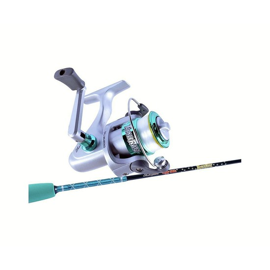 Ugly Stik 3'9 Tackle Ratz Green Kids Rod and Reel Combo-1 Pce-Spooled with Line