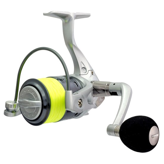 Wilson Battle-X 3000 4 Ball Bearing Fishing Reel Spooled with 10lb Braid - Spin