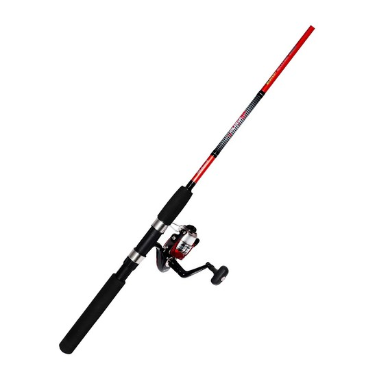 Shakespeare 6'6 Alpha Fishing Rod & Reel Combo-4-8kg-2 Pce Rod/65Sz Reel Spooled