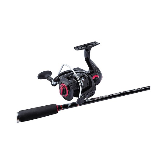 Abu Garcia 6 ft 3-6kg Muscle Tip 3 Fishing Rod & Reel Combo-Med Action/3000 Reel