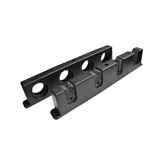 Berkley Twist and Lock Horizontal Fishing Rod Holder / Rack-Stores 4 Rods