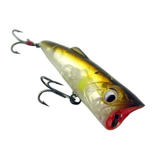 ZEREK POPARAZZI - 50mm - 4.5 grams TOP WATER POPPING LURE- AYU COLOUR Brand New