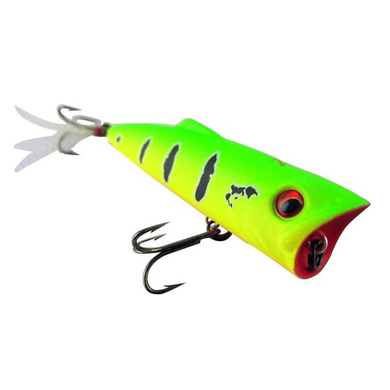 ZEREK POPARAZZI - 50mm - 4.5 grams TOP WATER POPPING LURE- T COLOUR Brand New
