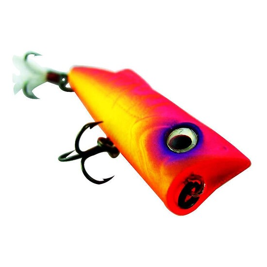 ZEREK POPARAZZI - 50mm - 4.5 grams TOP WATER POPPING LURE- VO COLOUR Brand New