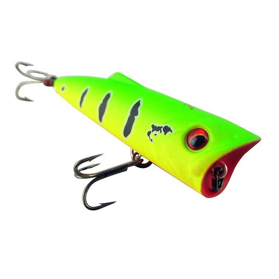 ZEREK POPARAZZI - 70mm - 9.5 grams TOP WATER POPPING LURE- T COLOUR Brand New
