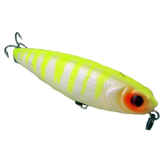 ZEREK TRAIL WEAVER - 65mm, 6g TOP WATER FISHING LURE CHT- PERFECT FOR BREAM BASS