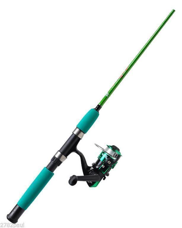 Abu garcia clownfish 4 39 kids fishing rod reel combo for Toddler fishing pole