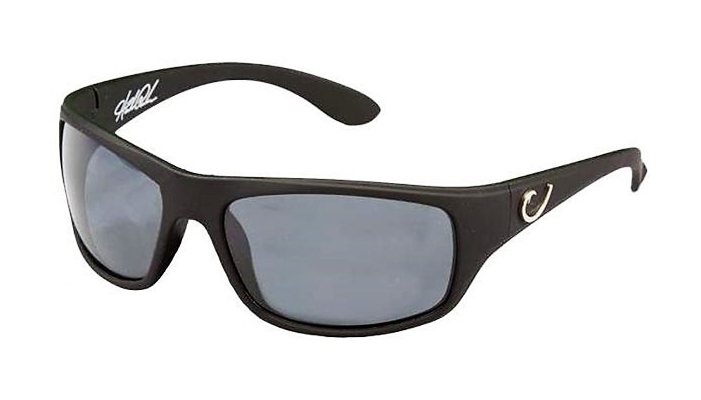 c20f9296e55 Mustad Hank Parker Polarized Sunglasses-Black Frame with Smoke Lens-HP100A-2.   34.95
