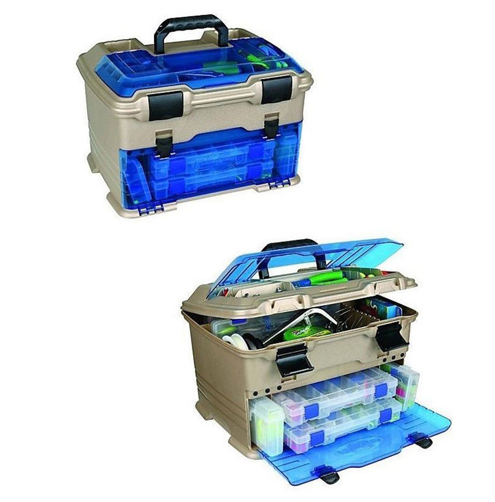 Angelsport Flambeau T3 Frost Series Mini Front Loader Tackle Box Blue