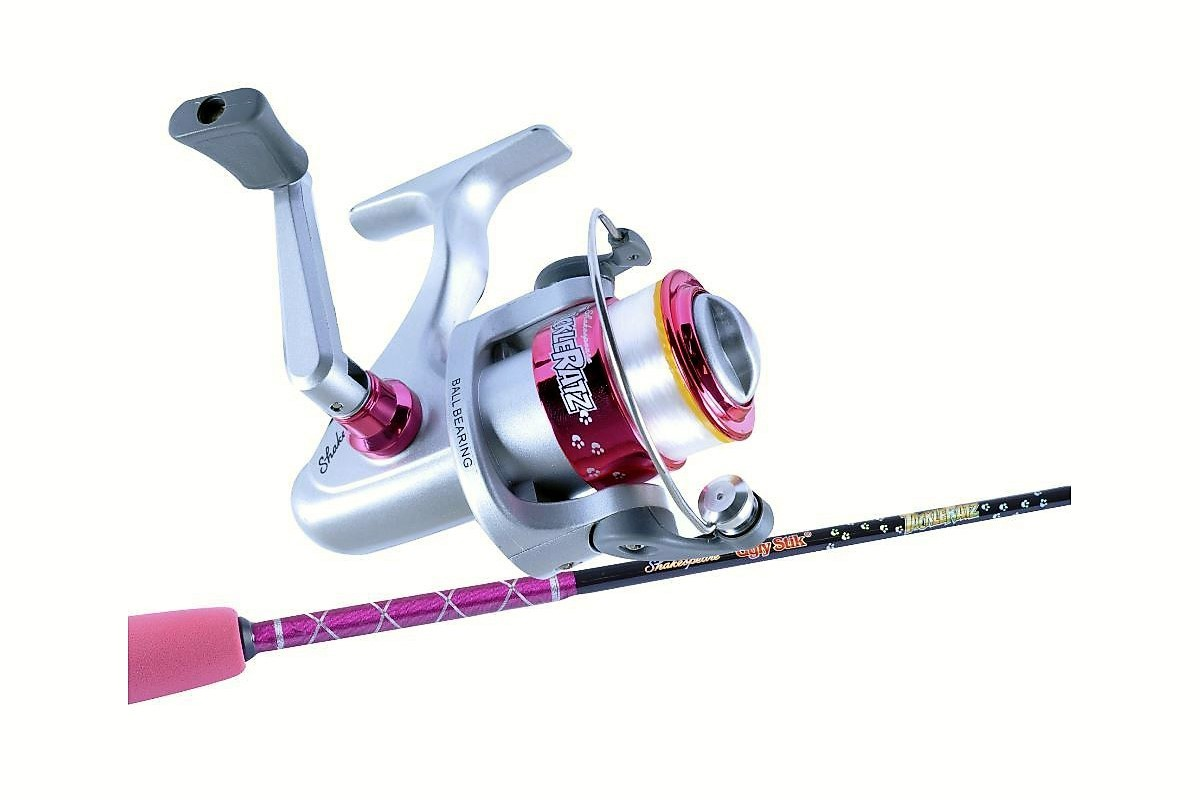 Ugly Stik 3 9 Tackle Ratz Pink Kids Rod Amp Reel Combo 2 Pce