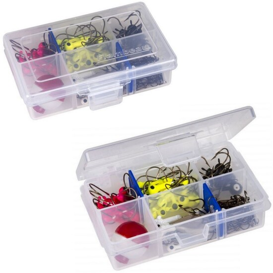 Flambeau 1002TTD 6 Compartment Tuff Tainer Fishing Tackle Tray with Zerust