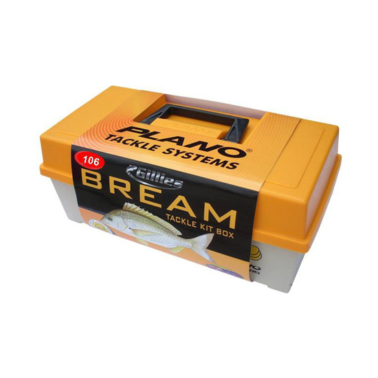 Plano Bream Tackle Kit - Fishing Tackle Box With 106 Pieces Of Tackle